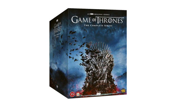 Game of Thrones Complete Serie DVD (Import)