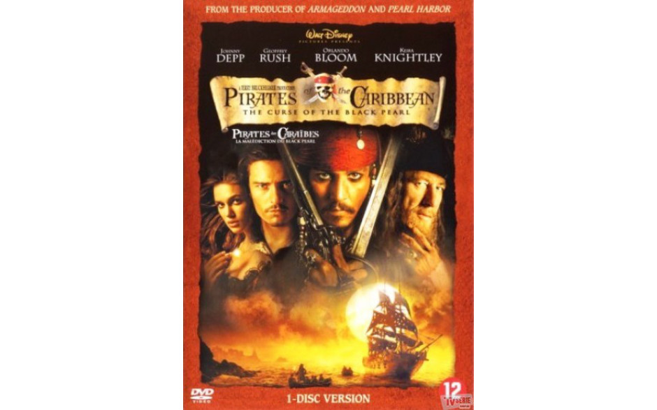 Pirates of the Caribbean 1 - The curse of the black pearl