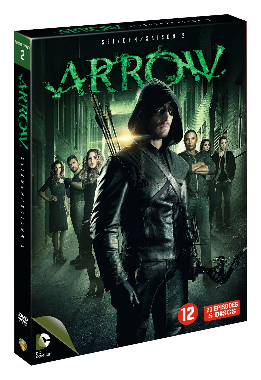 Arrow Seizoen 2 DVD