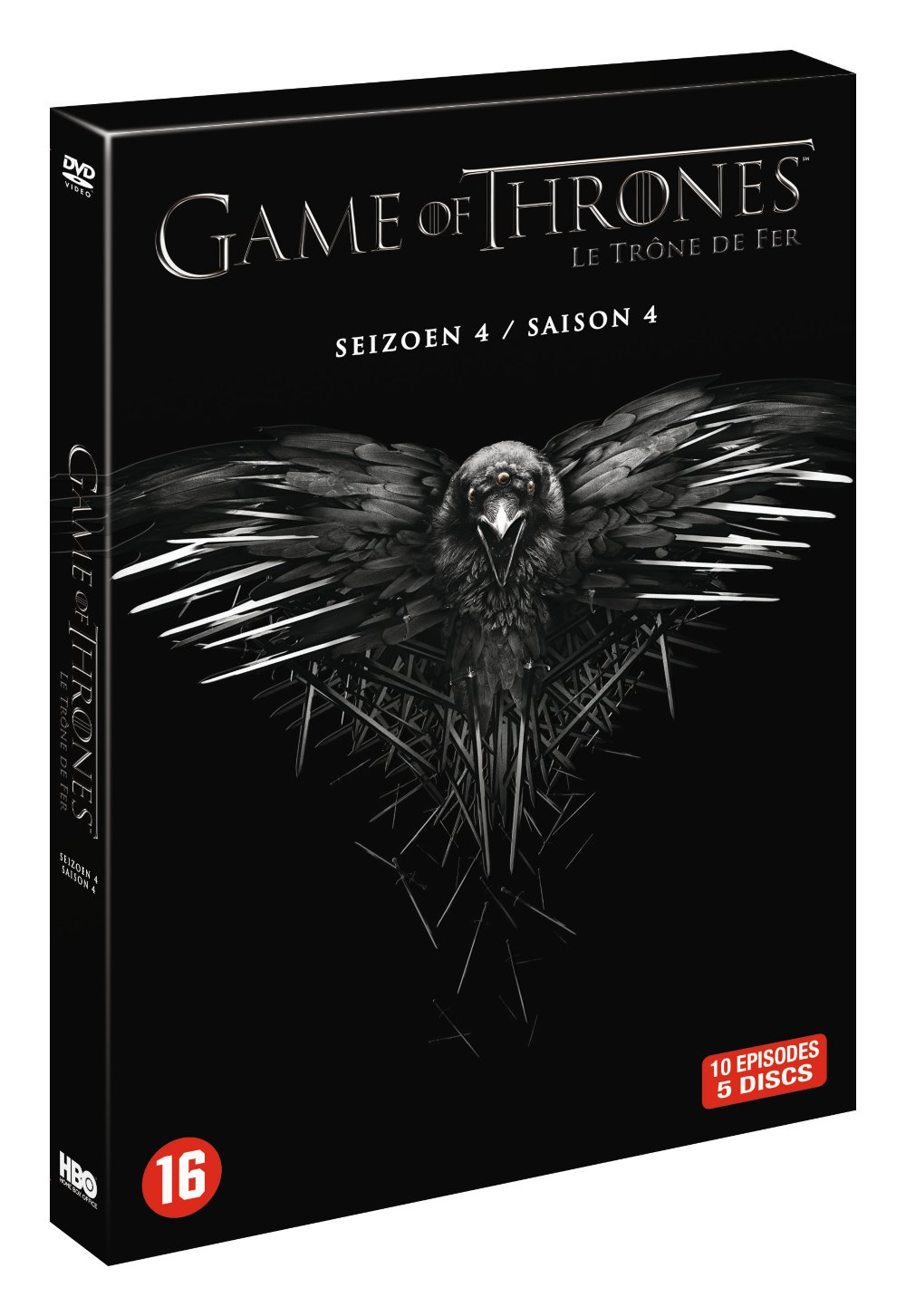 Game of thrones seizoen 4 DVD